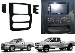 Metra 95-6522B Double DIN Stereo Install Dash Kit For 2002-2005 Dodge Ram New