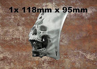 1x Ace of Skull Vinyl Graphic, Sticker, Decal, Custom, Bike, Car ,Tuning