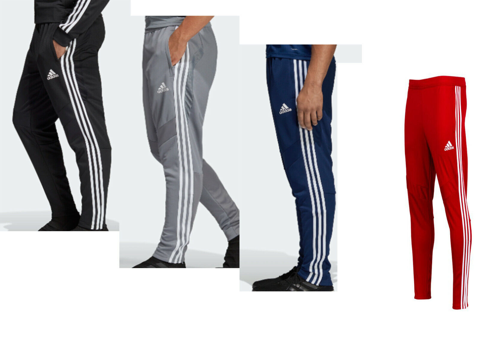 Adidas Tiro 19 Men's Training Pants Climacool / Soccer  Mult