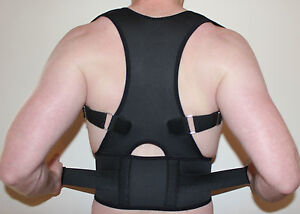 NEW-BACK-SUPPORT-BRACE-POSTURE-CORRECTION-ADJUSTABLE-NEOPRENE-LUMBAR-BELT