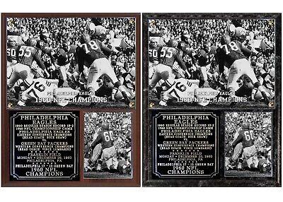 Philadelphia Eagles 1960 NFL Champions Photo Plaque ()