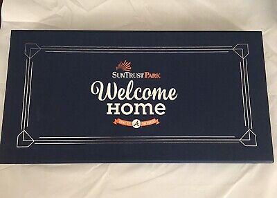 Atlanta Braves Gift (SunTrust Park Atlanta Braves A-List Inaugural Season Ticket Gift Box USB Pin)