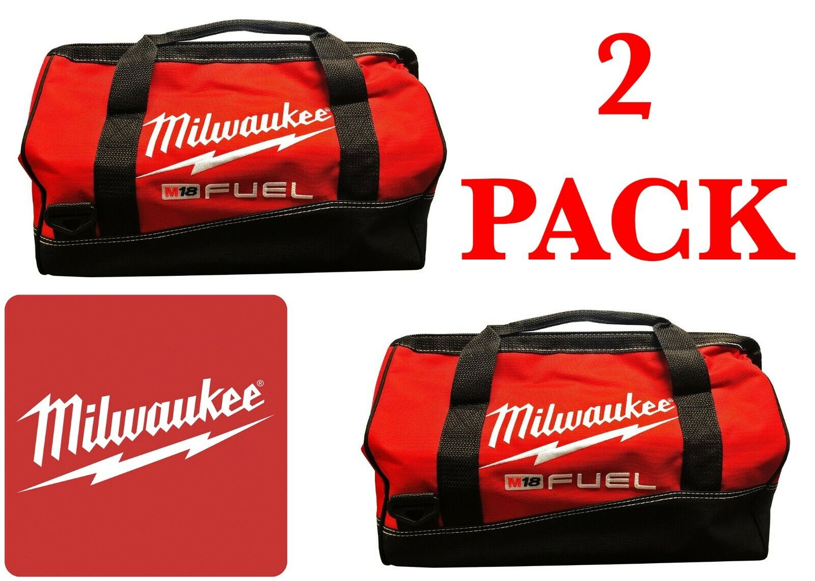 """2 PACK Milwaukee 50-55-3560 16"""" M18 FUEL Heavy-Duty Contract"""