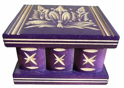 Wood Magic Secret Puzzle Box, Brain Teaser, IQ test, Secret lock, Smart trick