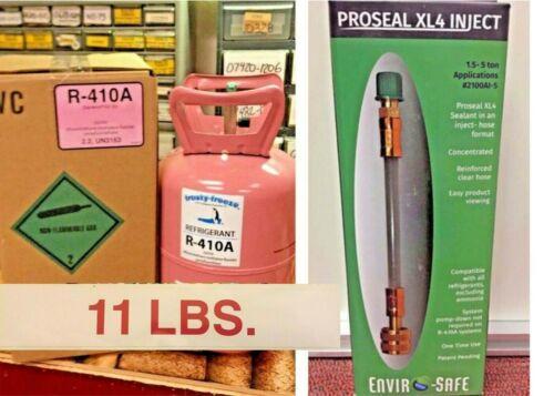 R410a, 410a Refrigerant, 11 lb.Jug, Includes Pro-Seal XL4 Leak Stop Injector