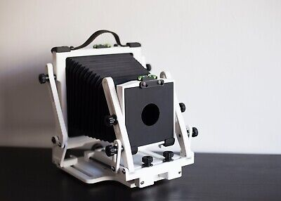 4x5 camera Proxima Gibellini (blanche) + 5 chassis, 1.2kg