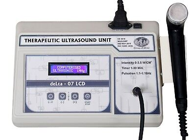New 3 Mhz Ultrasound Therapy Unit Lcd Machine Physiotherapy Ultrasound Fggs