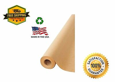 American Made Brown Kraft Paper Jumbo Roll 17.75 X 2400 200ft Ideal For Gift