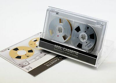 Reel to Reel cassette tape self-made high quality design Silver color New