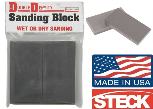 Steck Manufacturing 35300 Double Density Sanding Blocks New Free Shipping Usa