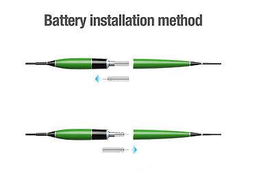 Neue Wiederaufladbar CR425 Batterie Fischen Treiben Batterie USB Schnellladung Y