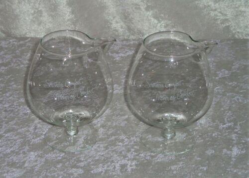 2 VTG Southern Comfort - Pitcher of Comfort 32 oz. Glass Pourer Whiskey Barware