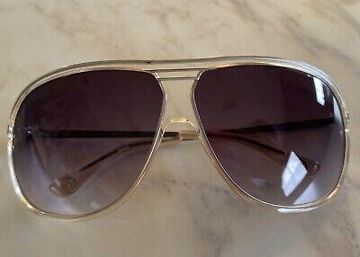 Michael Kors 042 Silver Metallic Aviator Sunglasses