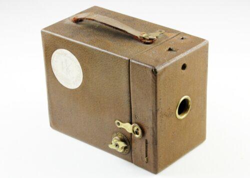 U202100 Kodak 50th Anniversary Brownie Box Camera (1880-1930) As-Is