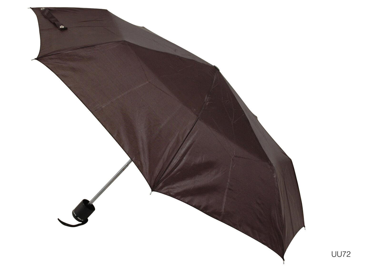 KS Brands UU0072 21 Inch Taslon Supermini Umbrella With Matching Sleeve Black