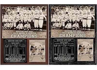- Boston Red Sox 1912 World Series Champions Photo Plaque