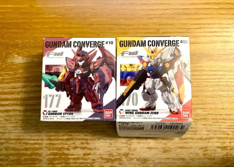 *NEW* BANDAI FW Converge Wing Gundam Proto Zero & Gundam Epyon
