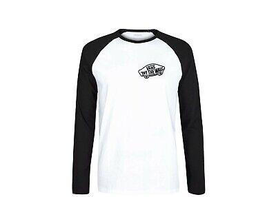 Vans Skateboard Raglan Long Sleeve T Shirt
