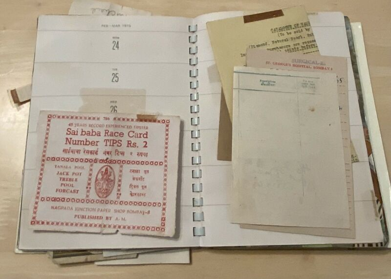 Paper Souvenirs From India Trip-1963 tourist Map Mario Miranda Exhibit Ad Plus