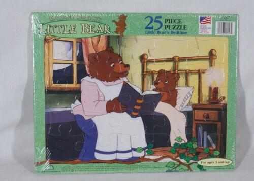 RARE VINTAGE1999 MAURICE SENDAK LITTLE BEARS BEDTIME FRAME TRAY 25 PC PUZZLE NEW