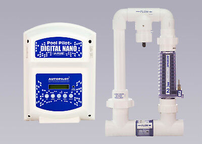 NEW AutoPilot NANO Plus DNP2 Salt Chlorine Generator, Pool Pilot, 220V, AquaCal Autopilot Chlorine Generator