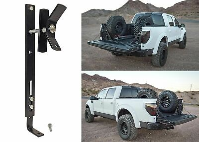 In Bed Spare Tire Mount Bracket (Mounts Tire Vertically) New Free Shipping USA ()