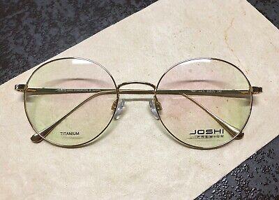 Joshi premium 7847 col.5 Titanium/Brille/Eyeglasses/Frame/Lunettes; Front 142 mm