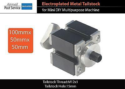 Electroplated Tailstock Mini Diy Machine Zhouyu Lathe Drilling Milling Z007ms