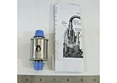 Back Flow Watts Preventer Check Valve With Vent Line Carbonator