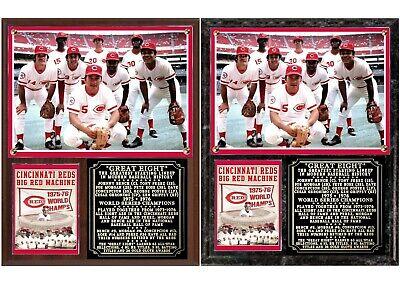 Great Eight Big Red Machine 1975-1976 Champs (1975 Big Red Machine)