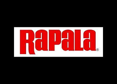 Rapala decal Vinyl fishing logo car truck bass boat tackle box sticker R01