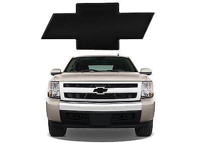 All Sales 96195K 2007 2013 Chevy Silverado 1500 Black Billet Bowtie New USA