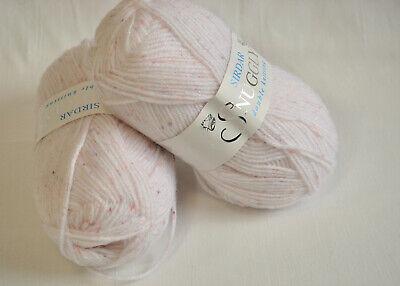 Sirdar Snuggly DK soft baby yarn 2 skeins ()