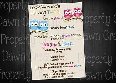 NEW Gender Reveal baby shower DIGITIAL DELIVERY Invitation](Gender Reveal Baby Shower Invitations)