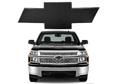 All Sales 96295K 2014 2015 Silverado Front Black Billet Bowtie New Free Shipping