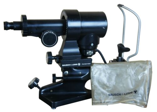 Bausch & Lomb Keratometer 71-21-35 Optical Optometry Exam Tool