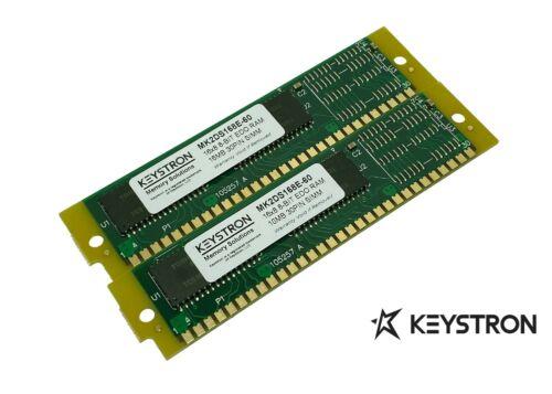 2x 16MB 32MB 30pin SIMMs RAM MEMORY non-parity 16x8 for Creative Labs AWE32