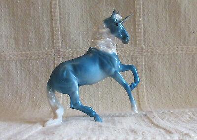 Breyer Stablemate Blue Alborozo - Unicorn Mystery Foal Surprise Set A # 6052