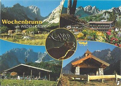 AK 6352 Ellmau am Wilden Kaiser, Alpengasthof Wochenbrunn in Tirol