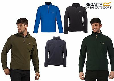 REGATTA THOMPSON LIGHT WEIGHT MICRO FLEECE WALKING ADVENTURE TRAVEL WORK