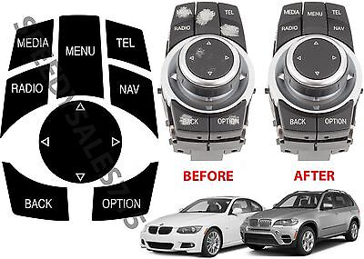 Bmw Idrive Repair Kit Replacement Stickers For Select Bmw Vehicles New Free Ship