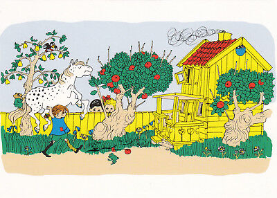 Kunstkarte: Kennst du Pippi Langstrumpf ?