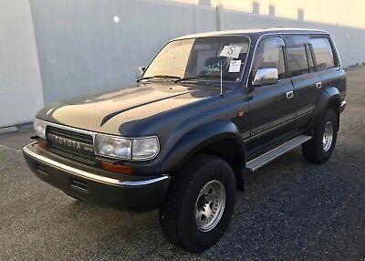 1991 Toyota Land Cruiser HDJ81 JDM 1991 Toyota Land Cruiser HJD81 TURBO DIESEL RIGHT HAND DRIVE