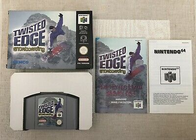 TWISTED EDGE Snowboarding *N64* sehr guter Zustand/very good condition * OVP/CIB