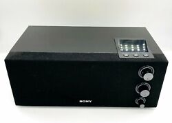 Sony ICF-M1000 FM/AM Synthesized Digital Tuning Table-Top LCD Radio with clock
