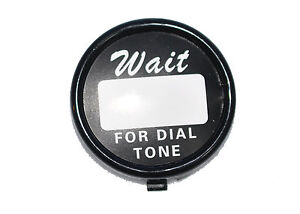 Western-Electric-Telephone-Dial-Center-card-ring-with-backing-plate-and-card