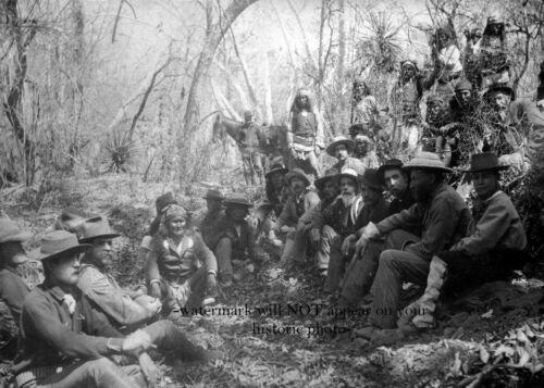 1886 Geronimo Surrender General Crook PHOTO Apache Chief Indian Native American
