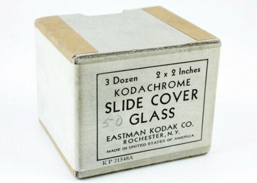 U201401 Partial Box Vintage Kodak Kodachrome Slide Cover Glass As-Is