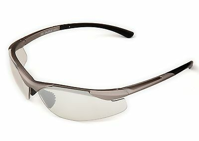 B1109cp Io Taurus Safety Glasses  Champagne Frame  Io Silver Mirror Lens