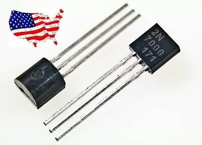 2n7000 10 Pcs N-channel 60v 200ma E- Mosfet - From Usa